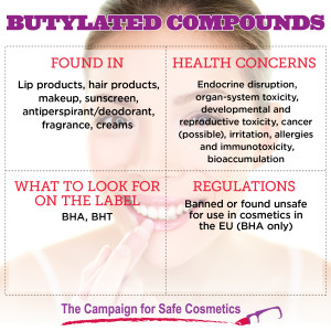 Butylated Compounds