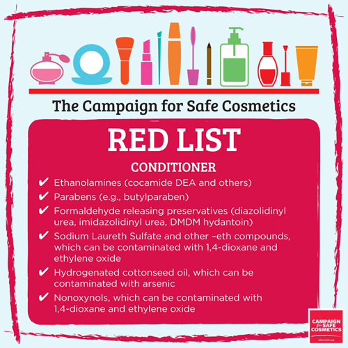 Image result for red list makeup