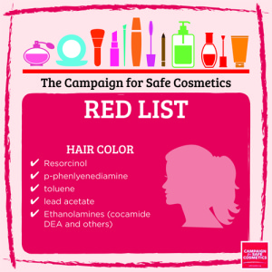 Redlist hair color